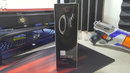 Edifier H850 Hi-Fi Headphones Box Side View
