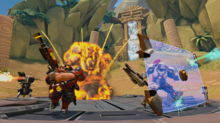 Paladins Champions Of The Relam Defending Point provided by HiRez