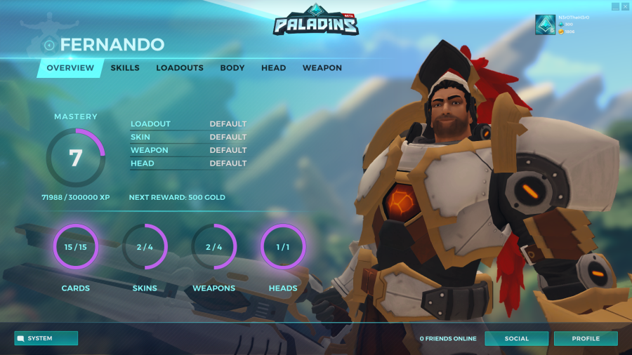Paladins Champions Of The Realm Fernando