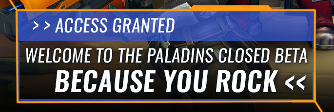 Paladins Champions Of The Realm Beta