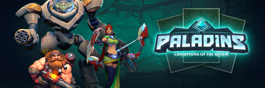 Paladins Champions Of The Relam Logo