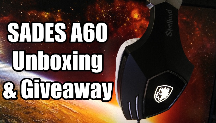 N3r0TheH3r0 SADES A60 USB Gaming Headphones Unboxing Giveaway